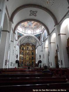 Parroquia de San Bernardino de Siena, interior   Foto Cida Werneck