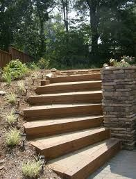 Image result for constructing steps on a slope