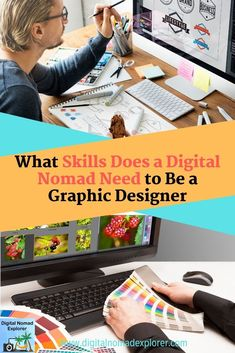 Acquiring the right skills is vital to succeeding as a graphic designer. Find out what skills are needed by digital nomads. This article has some great ideas to implement. Also, get FREE ACCESS to our Cappuccino Solver resource library! Virtual Assistant Services, Job Work, Digital Nomad, Work Travel, Work From Home Jobs, Online Work, Student, Graphic Design, Entrepreneur