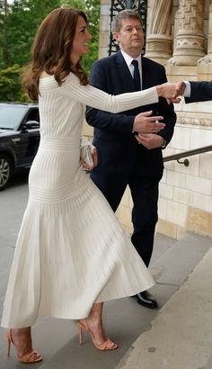 Catherine, Duchess of Cambridge arrives at the Art Fund Museum of the Year Award, held at London's Natural History Museum