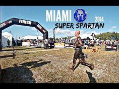 Miami Super Spartan Race - (FULL RACE) 2014