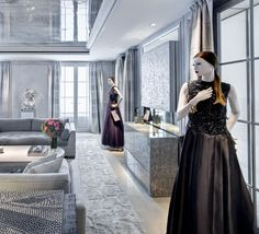 VIP Dressing Room at Dior on Rodeo Drive.