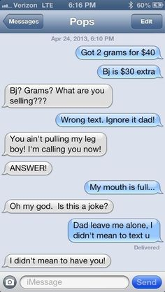 """Funny Text Pranks to Send to Friends 2 45 Pranking Parents with """"drug Dealer"""" Text Message Funny Texts Pranks, Text Pranks, Epic Texts, Hilarious Texts, Text Memes, Funny Memes, Text Quotes, Mom Texts, Funny Quotes"""