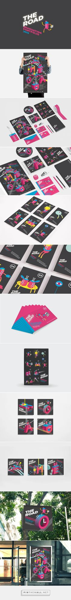 THE ROAD GRADUATION PORTFOLIO 2014 on Behance | Fivestar Branding – Design and Branding Agency & Inspiration Gallery