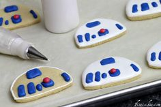 1 Fine Cookie - Star Wars Cookies (with Royal Icing Recipe)