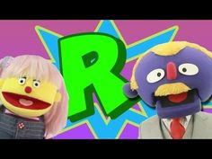 The Letter R Story And Song - YouTube