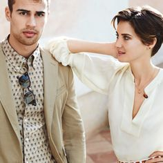 What Do Divergent Co-Stars Shailene Woodley and Theo James Really Think of Each Other? Find Out in Our Exclusive Interview! #InStyle