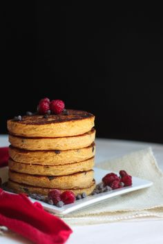 life changing pancakes? gluten-free sweet potato pancakes, billed as the fluffiest pancakes ever.