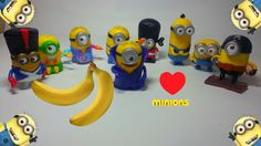 McDonalds Happy Meal Minions 2015 Full Set 9 Tous Mega Unboxing ‪#‎happymeal‬ ‪#‎mcdonalds‬ ‪#‎minions‬