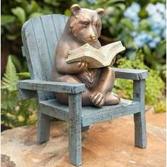 Looking for Reading Bear Garden Statue Plow & Hearth ? Check out our picks for the Reading Bear Garden Statue Plow & Hearth from the popular stores - all in one. Frog Statues, Bird Statues, Herb Garden Design, Garden Art, Garden Hose, Hearth And Patio, Bear Statue, Outdoor Garden Statues, Garden Lanterns
