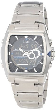 Casio Men's EFA120D-1AV Ana-Digi Edifice Thermometer Bracelet Watch - http://www.specialdaysgift.com/casio-mens-efa120d-1av-ana-digi-edifice-thermometer-bracelet-watch/