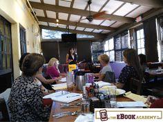 Jennifer Butler of Prestige Insight giving tips about social media. http://www.TheEbookAcademy.com