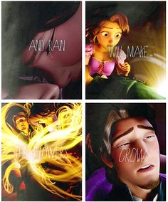 I can't believe someone noticed this... kudos to them! Tangled and Les Miserables.