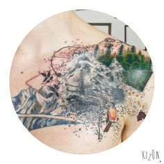 ¨Pasiones¨ Entonces, cual es la relación con mis intenciones? Que no es algo definido, rígido, estricto. No sigue ninguna ley (...) es un collage de cosas que representan un collage de sentimientos que tiran para el lado de la libertad, (…), quitarle los límites a la imaginación, al pensamiento, a nuestros sueños. Quiero contestar cuando me pregunten por mi tatuaje (...) quiero decir que es mío. Quiero color, quiero que signifique para el resto, lo que quiera que signifique.