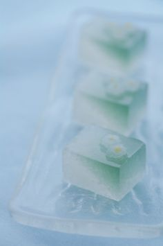 Japanese sweet jelly cakes