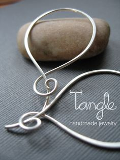 Hey, I found this really awesome Etsy listing at https://www.etsy.com/listing/22526410/sterling-silver-hoops-with-a-twist