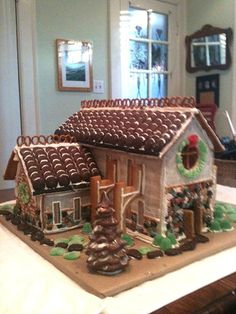 """Gingerbread Cathedral"" by Ashley D. (Standout Execution)"