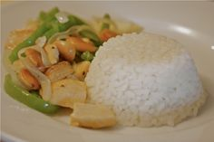 392POLLOALMENDRASblog Grains, Rice, Food, Cooking Recipes, Eten, Seeds, Meals, Korn, Diet