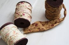 Vintage Calico Ribbon from Olive Manna