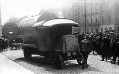 Improvised Armour, From The British Army 1916 To The Islamic State 2016 – AN SIONNACH FIONN Steam Box, Irish Republican Army, General Post Office, Armoured Personnel Carrier, British Army, Armored Vehicles, Easter Rising, Monster Trucks, Boiler