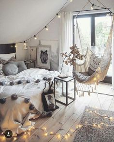 Imagem de autumn, bed, and bedroom
