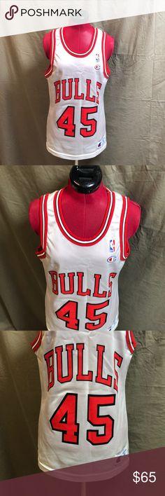 6b6c44c34 Vintage Champion Michael Jordan 45 Jersey Men s Vintage Champion Jersey.  Chicago Bulls