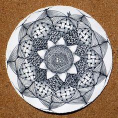 Zendala by Zentangle founder Maria Thomas