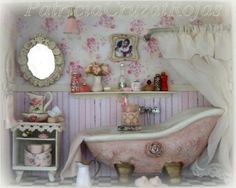Baño con Miniaturas para mujer
