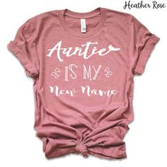 St Patrick's Day Gifts, Great Father's Day Gifts, Auntie Gifts, Sister Gifts, Shirt Diy, Yoga Outfits, Aunt Shirts, Pregnancy Shirts, Pregnancy Info