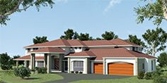 retreat-Double-Storey-Country-House-plan - Big Two Storey - Nice!