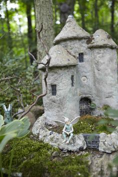 Elves Faeries Gnomes:  #Faery castle.