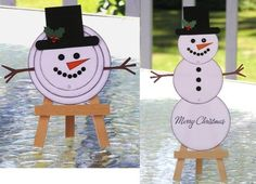 Stacking up a Snowman (hostess) by Plain Jane - Cards and Paper Crafts at Splitcoaststampers