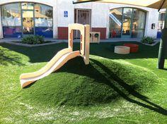ohmygod…. the coolest slide ever. Hill Slide