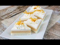 Kuchařky s recepty na tradiční české domácí cukroví, koláče a řezy. Vanilla Cake, Feta, Cheesecake, Dairy, Food And Drink, Treats, Sweet, Youtube, Sweet Like Candy