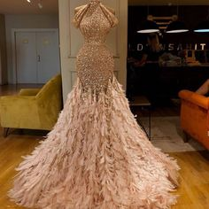 High Fashion Glitter Formal Evening Dresses Long Mermaid Prom Dress 2019 Feathers Luxury Celebrity Gowns Party Dubai Vestidos-in Evening Dresses from Weddings & Events on AliExpress Modest Evening Gowns, Evening Dress Long, Elegant Dresses, Pretty Dresses, Formal Dresses, Sparkly Dresses, Amazing Dresses, Stunning Dresses, Cheap Dresses