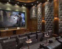 This Is Very Cool Home Cinema I Can Imagine Watching Indian Jones. Homedit    Interior Design And Architecture Inspiration