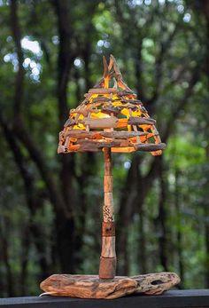 #流木の照明-8 ★ #流木 #流木アート #屋久島 #インテリア #Driftwood art