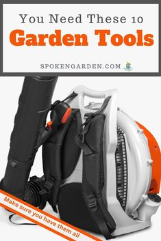 Worry that you don't have the correct garden tools yet because you're a beginning gardener? From power tools to hand tools, check this tool list and start gardening smarter today. Garden Tool Organization, Garden Tool Storage, Garden Tools, Garden Ideas, Autumn Garden, Spring Garden, Winter Container Gardening, Pruning Tools, Tree Pruning