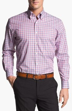Peter Millar Regular Fit Sport Shirt available at Nordstrom