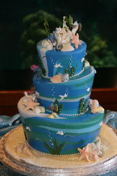 Little mermaid cake :]