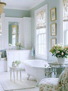 Total white bathroom