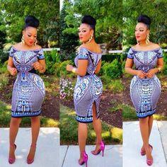 Africa Bazin African Dress zuggatea.com facebook.com/zuggatea $25.84