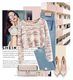 Shein in fall by polybaby on Polyvore featuring polyvore fashion style Louis Vuitton NARS Cosmetics Chanel clothing