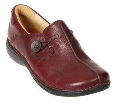 2e60da0900bb Clarks Unstructured Leather Slip-on Shoes -Un.
