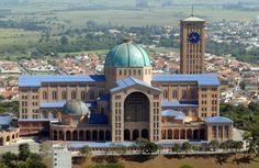Santuário de Nossa Senhora Aparecida em Aparecida do Norte, Brasil