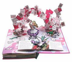 Pop Up Books!  Alice's Adventures in Wonderland: A Pop-up Adaptation: Lewis Carroll, Robert Sabuda: 8601401486602: Amazon.com: Books
