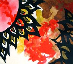 "Saatchi Online Artist Caerys Walsh; Painting, ""Autumn Sun"" #art"