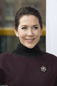 "LA PRINCESSE MARY DE DANEMARK "" LES NATIONS UNIES "" - PRINCESS MONARCHY"