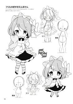 Elegant How to attract - Terrific How to attract - Anime Chibi, Draw Chibi, Kawaii Chibi, Chibi Drawing, Anime Drawing Books, Anime Character Drawing, Manga Art, Chibi Tutorial, Manga Tutorial