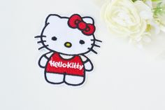 Tøymerker Hello kitty